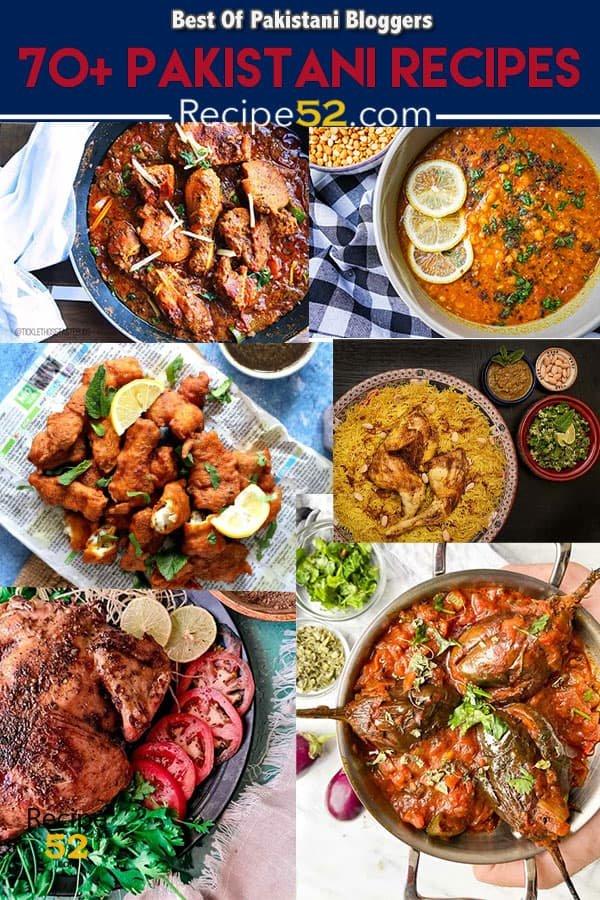 PAKISTANI FOOD DISHES, TRADITIONAL & FUSION RECIPES